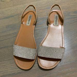 Steve Madden Rhinestone Sandals *Size 8*
